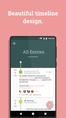 Stories – Timeline Diary / Journal, Mood Tracker Android