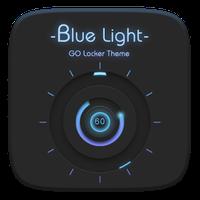 Blue Light GO Locker Theme apk icon