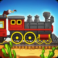 Western Train Driving Race apk icon