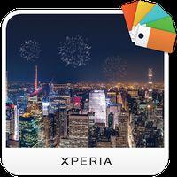 XPERIA™ New Year's Eve Theme apk icon