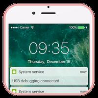Εικονίδιο του LockScreen Phone7-Notification