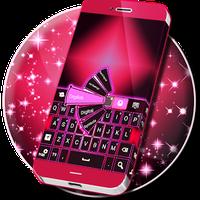 Pink Black Keyboards apk icon