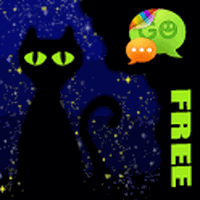 Magic Cats Theme for GO SMS APK Simgesi