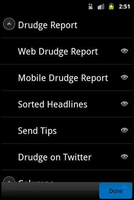Download Official Drudge Report App 5 0 4 free APK Android