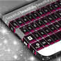 Pink Chrome Keyboard Theme  APK