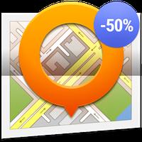 Kaarten GPS Navigatie OsmAnd+ icon