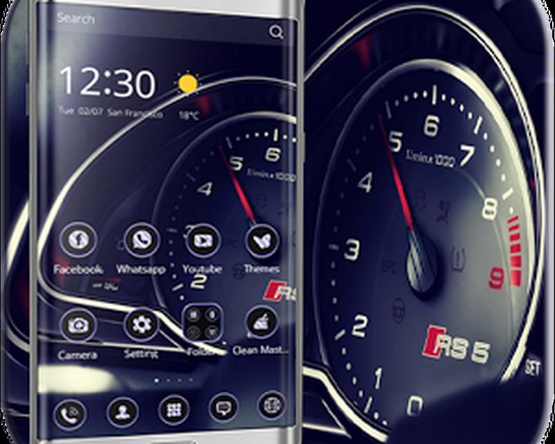 Thème Voiture Speedometer Android - Télécharger Thème