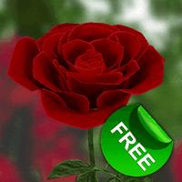 Icône de La rose 3D (gratuitement)