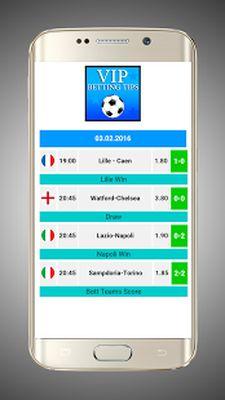 Betting Tips: VIP Screenshot Apk 0