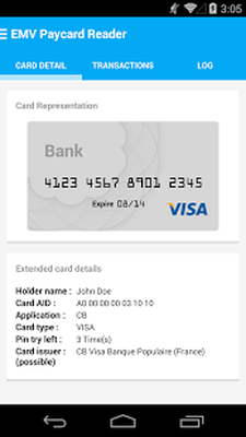 paycardreader apk