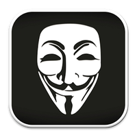 Icône de Anonymous Hacker Wallpaper