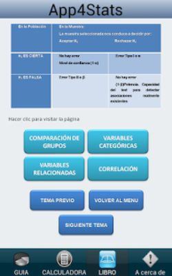 App4Stats SPSS Statistics Free Screenshot Apk 2