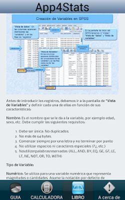 App4Stats SPSS Statistics Free Screenshot Apk 4