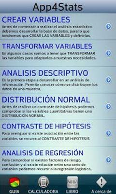 App4Stats SPSS Statistics Free Screenshot Apk 6