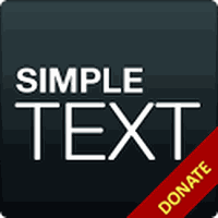 Simple Text Donate/Pro Key アイコン