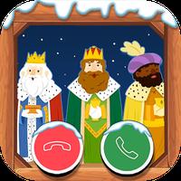 Icono de VideoLlamada Reyes Magos -Te llaman gratis Navidad