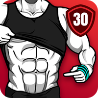 Εικονίδιο του 6 Pack Abs in 30 Days - Abs Workout
