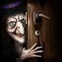 a cerca escura - fuga da festa do Dia das Bruxas 1.9