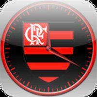 Ícone do Flamengo Relógio
