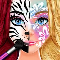 Ikon Cat Wajah Berdandan Salon
