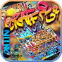 Graffiti Wall Keyboard theme 10001003