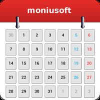 Ícone do Calendário Moniusoft