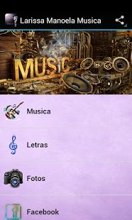 77b4f6e6c6591 Baixar Larissa Manoela Musica 1.0 APK Android grátis