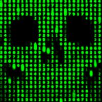 Ícone do Digitais Crânio fundo dinâmica