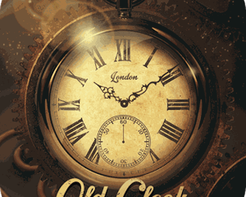 Gold Clock live wallpaper PRO Android - Free Download Gold