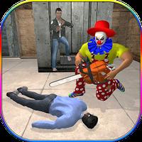 Ícone do apk Killer Clown Attack City: Brincadeiras assustadora