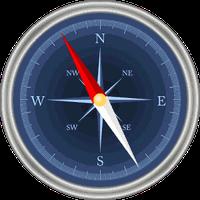 Ícone do Bússola com GPS