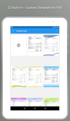 Moon Invoice Professional Invoices And Estimates Android Free - Moon invoice