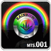 Rainbow Go Launcher theme apk icon