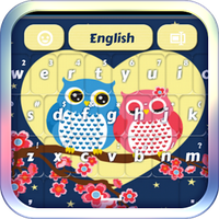 Sweet Owl Keyboard apk icon