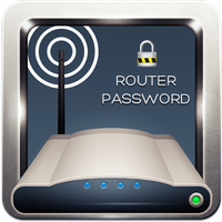 WiFi Şifre Router Anahtarı Simgesi