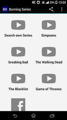Burning series the blacklist