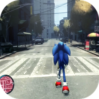 super sonic gta run mods APK Simgesi