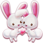 sevimli tavşan tema