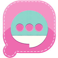 Easy SMS Pink Garden Theme APK Simgesi