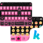 Pink Heart Kika Keyboard Theme 12.0