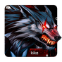 Bloody Metal Scary Wolf Keyboard Theme 1.0