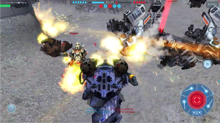 War robots is very successful game for the PC users