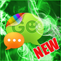 GO SMS Pro Tema Green Smoke 1.1 APK