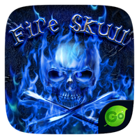 Ícone do Fire Skull GO Keyboard Theme
