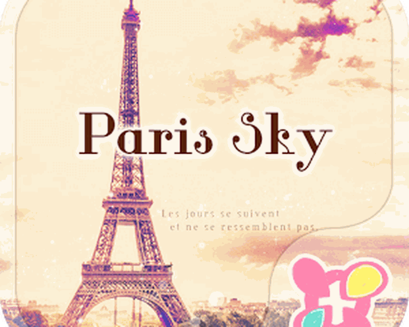 Eiffel Tower Theme-Paris sky- Android - Free Download Eiffel Tower