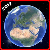 Εικονίδιο του γη χάρτης ζω gps