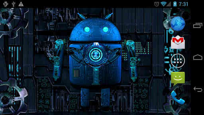 Steampunk Droid Live Wallpaper 124 Android Descargar