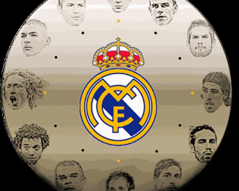 Real Madrid Clock Widget
