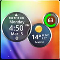 Ikon apk Rings Digital Weather Clock