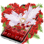 Tema Red Rose Pigeon Heart 1.1.4
